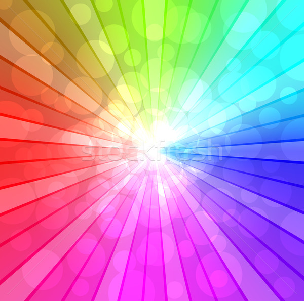 Colorful spectrum vector background. EPS10 file. Stock photo © tuulijumala