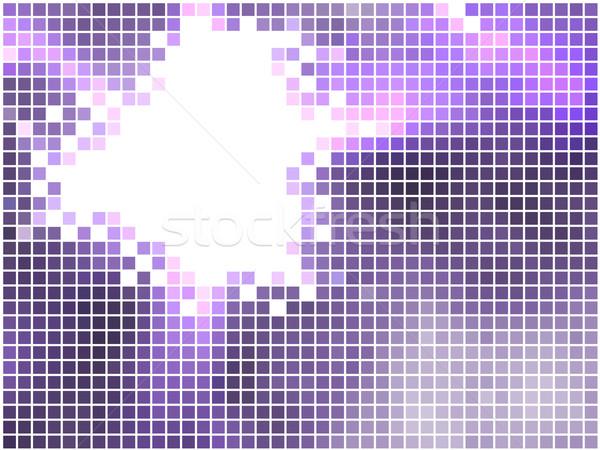 Violet mozaiek abstract horizontaal vector exemplaar ruimte Stockfoto © tuulijumala