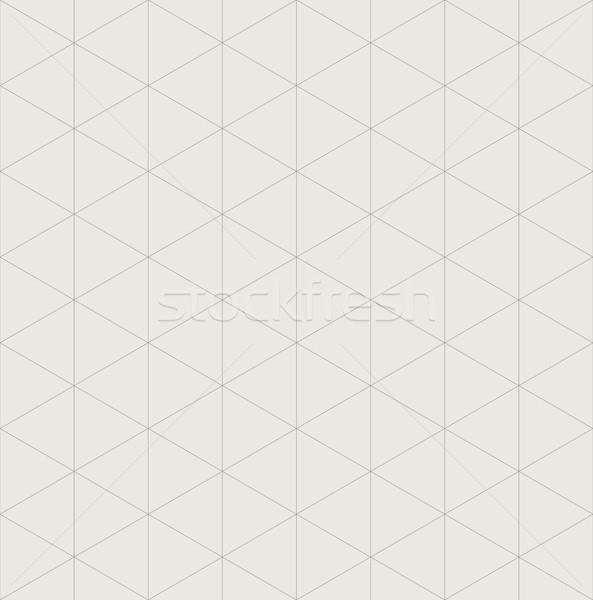 бесшовный изометрический сетке вектора шаблон компьютер Сток-фото © tuulijumala