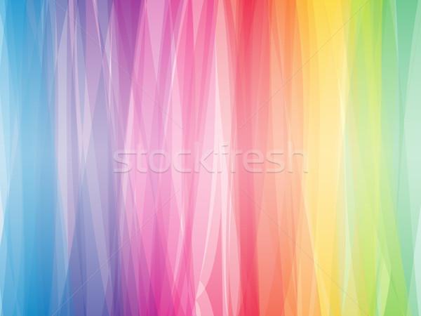 Abstrato cor espectro horizontal vetor papel Foto stock © tuulijumala