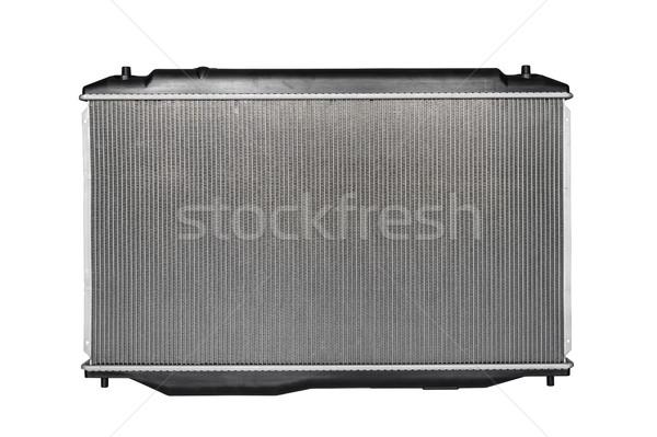 Elöl kilátás új autó radiátor izolált Stock fotó © tuulijumala