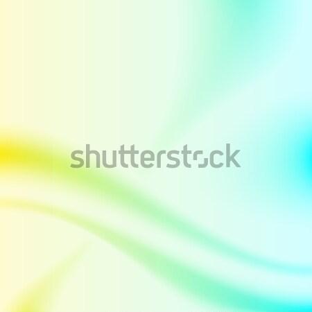 黄色 シアン 抽象的な ベクトル eps10 ファイル ストックフォト © tuulijumala