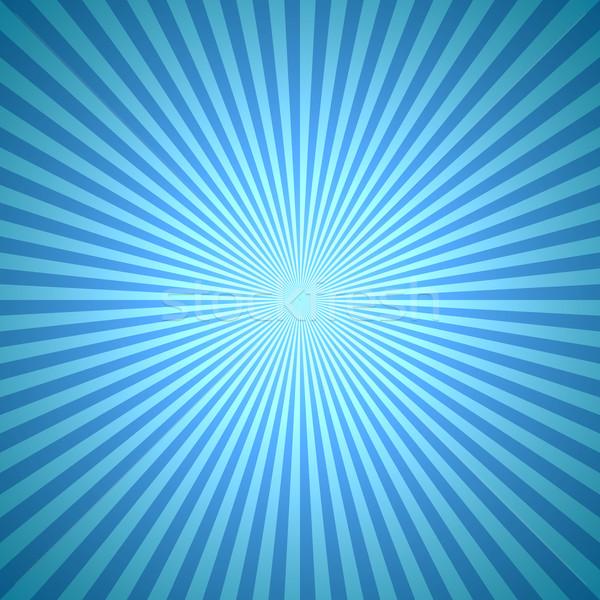 Abstrakten blau Winter Burst Licht Hintergrund Stock foto © tuulijumala