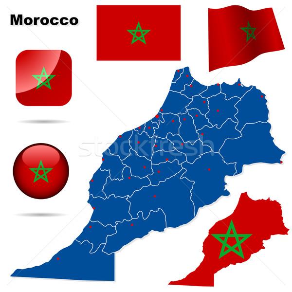 Morocco vector set. Stock photo © tuulijumala