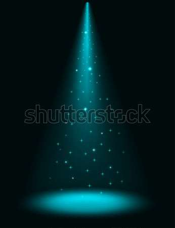 Abstract stage sparkling spotlight Stock photo © tuulijumala