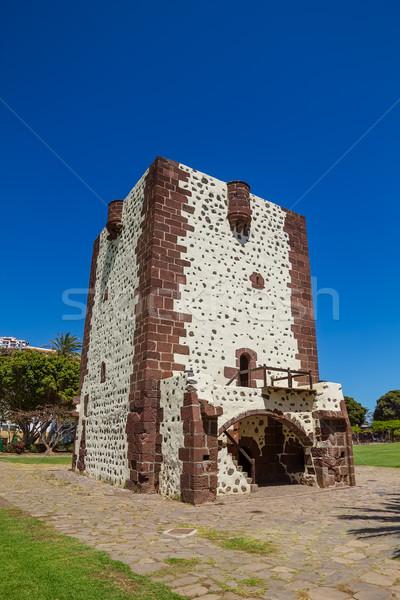 Tower Torre Del Conde (The Count's Tower) at La Gomera. Stock photo © tuulijumala