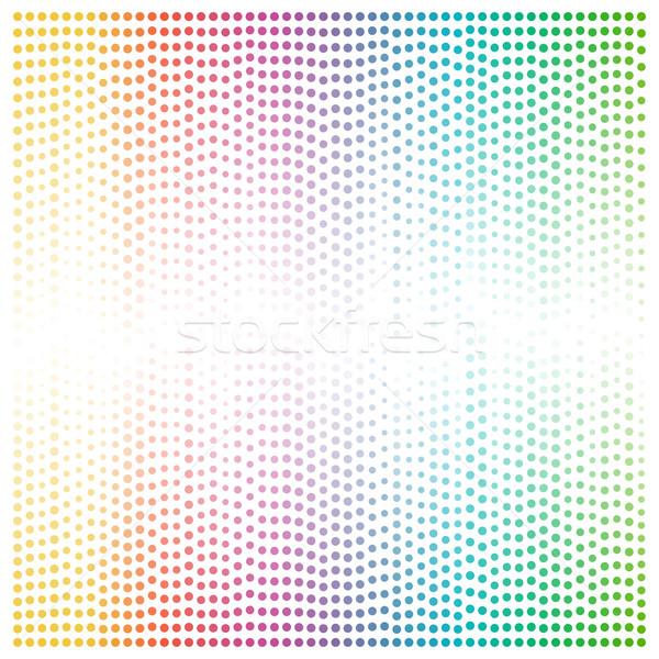 świetle wielobarwny kółko mozaiki kopia przestrzeń centrum Zdjęcia stock © tuulijumala