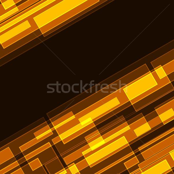 Resumen diagonal naranja eps eps10 archivo Foto stock © tuulijumala