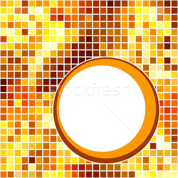 Stockfoto: Abstract · gouden · mozaiek · exemplaar · ruimte · textuur · partij