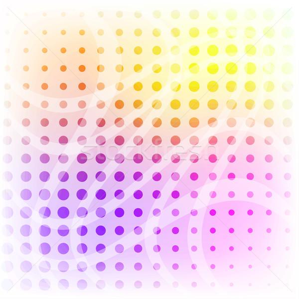 Colorido pastel vector eps10 archivo Foto stock © tuulijumala