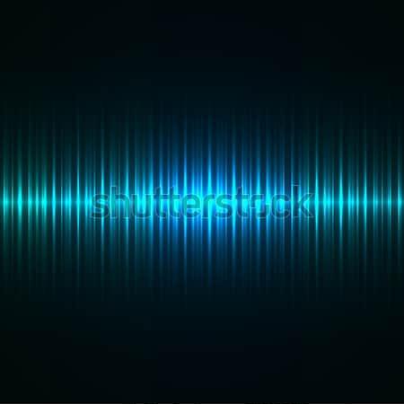 Abstract Blauw licht vector achtergrond ruimte Stockfoto © tuulijumala