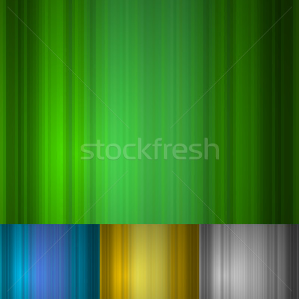Abstract vertical stripes green vector background with other col Stock photo © tuulijumala