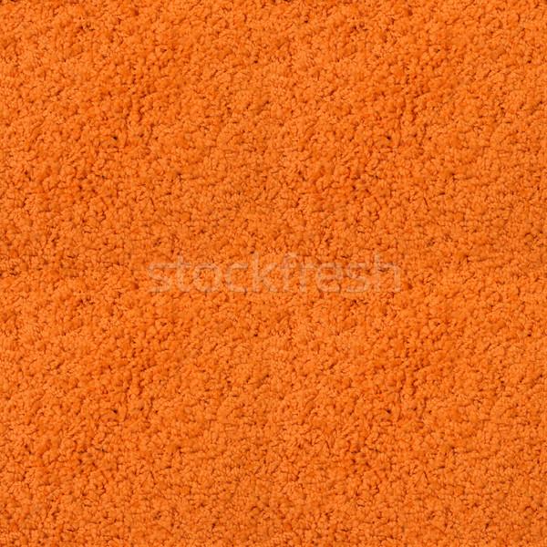 Naadloos oranje tapijt textuur huis ontwerp Stockfoto © tuulijumala