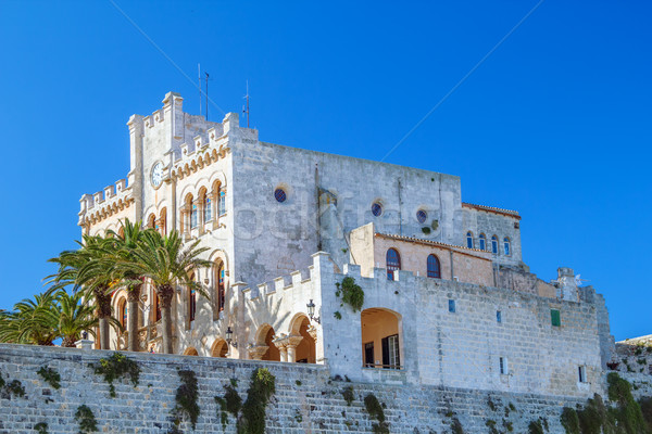 Former Town Hall at old town of Ciutadella,  Menorca, Balearic I Stock photo © tuulijumala