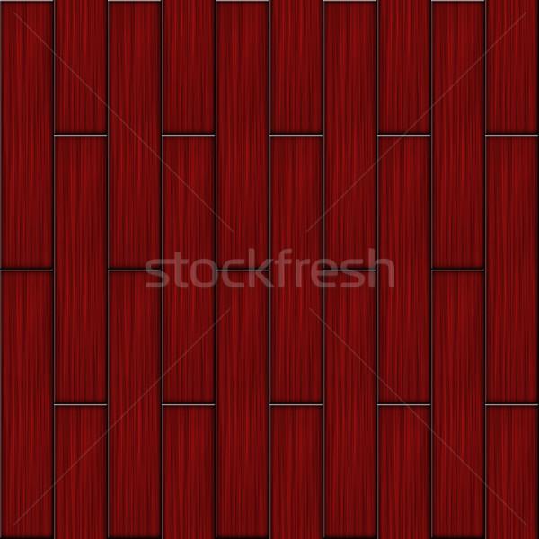 Red wood parquet Stock photo © tuulijumala