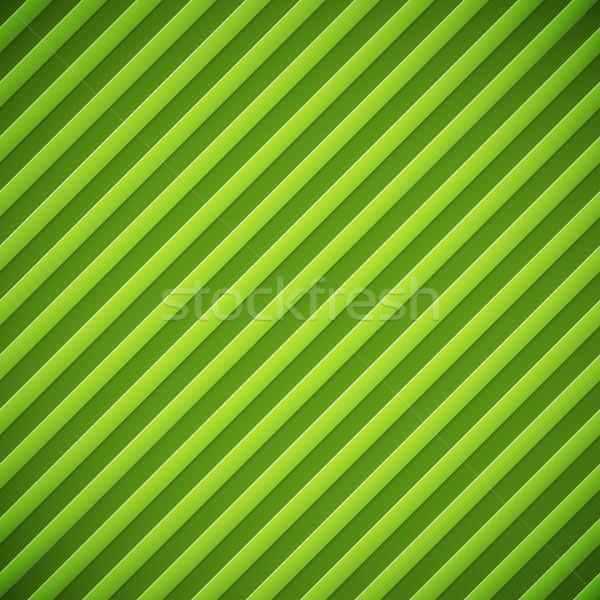 Bumped stripes green background Stock photo © tuulijumala