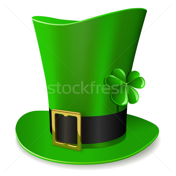 Leprechaun hat - St. Patrick's Day symbol. Stock photo © tuulijumala