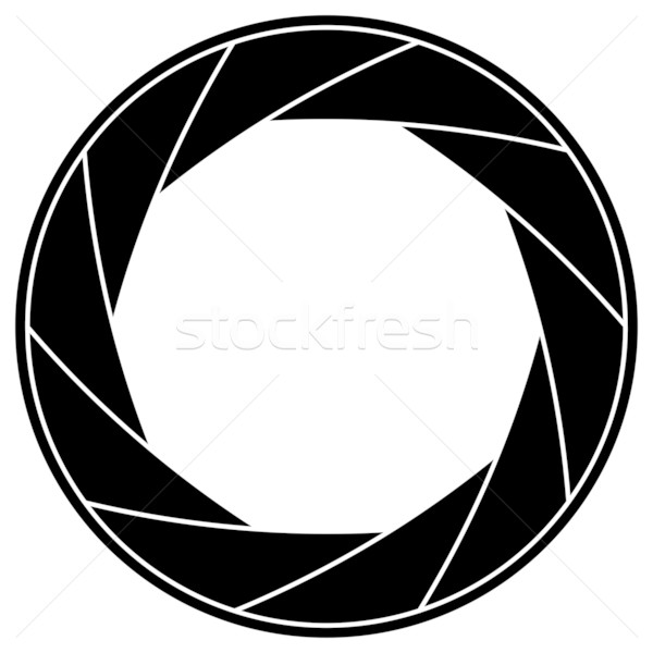 シャッター フレーム 黒白 黒 シルエット 写真 ストックフォト © tuulijumala