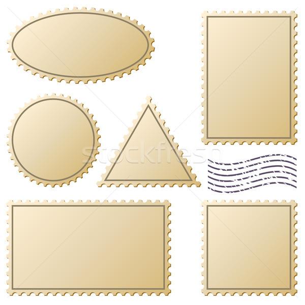 марок вектора набор изолированный белый бизнеса Сток-фото © tuulijumala