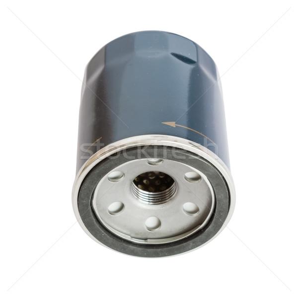 Automobile oil filter isolated on white background. Stock photo © tuulijumala