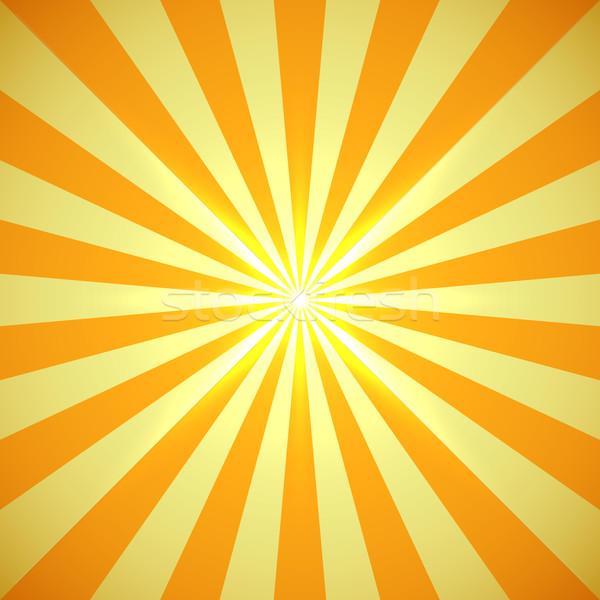 Sarı güneş ışık parlama Stok fotoğraf © tuulijumala