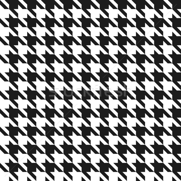 Naadloos zwart wit vector patroon textuur abstract Stockfoto © tuulijumala