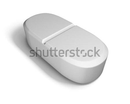 Pill isolated on white background.  Stock photo © tuulijumala