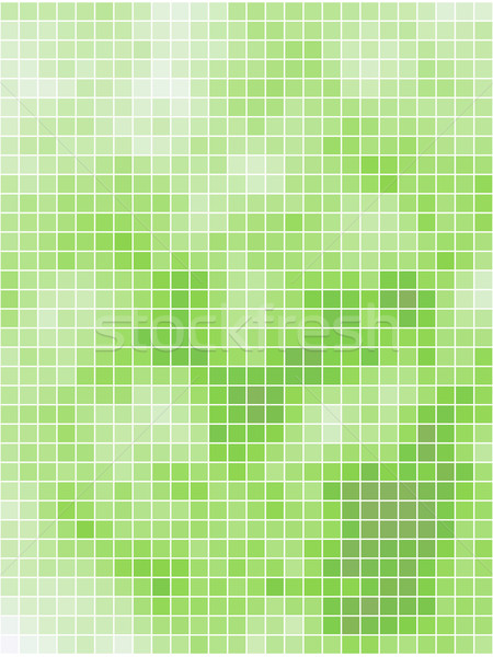 Abstract light green summer square mosaic background.  Stock photo © tuulijumala