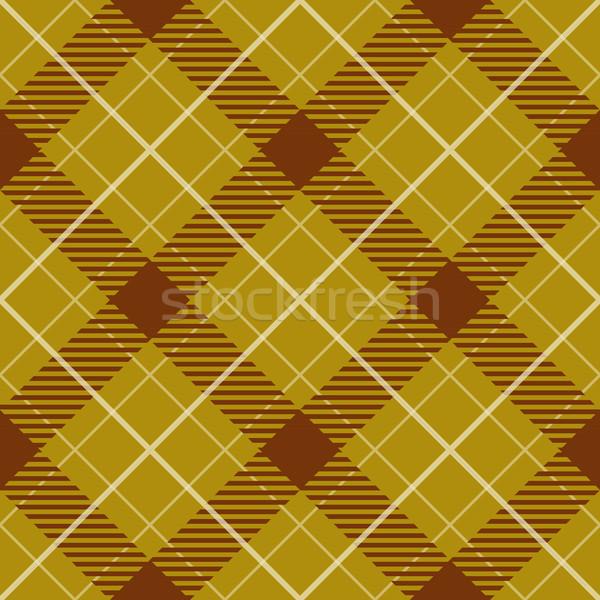 Sarı kahverengi diyagonal vektör Stok fotoğraf © tuulijumala