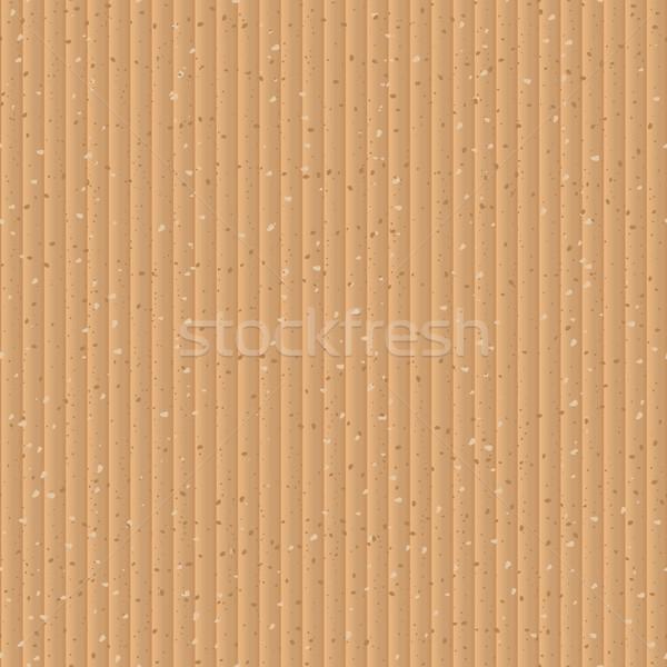 Stockfoto: Naadloos · Geel · karton · vector · textuur · abstract