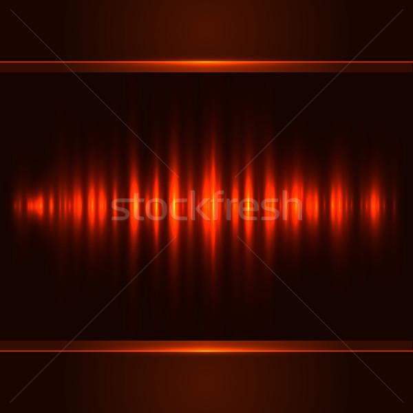 Rood verticaal licht vector brand abstract Stockfoto © tuulijumala