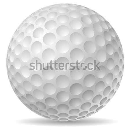Tradicional pelota de golf golf deporte taza juego Foto stock © tuulijumala