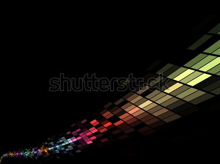 Colorful mosaic stream vector background Stock photo © tuulijumala