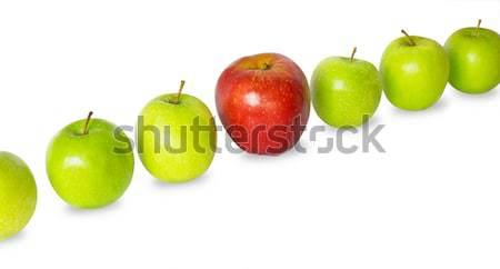 Apples row Stock photo © tuulijumala