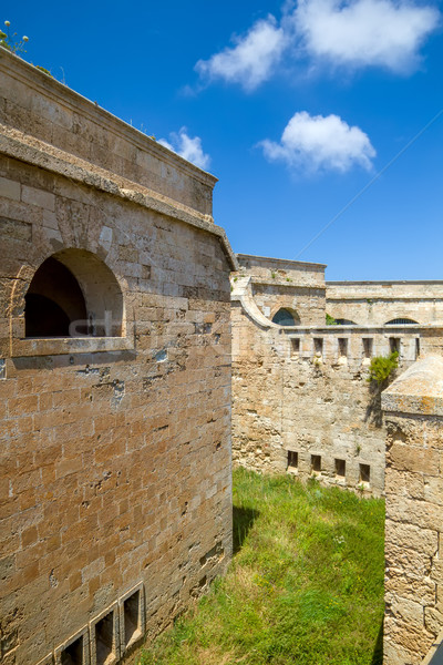 La Mola Fortress of Isabel II at Menorca island, Spain. Stock photo © tuulijumala