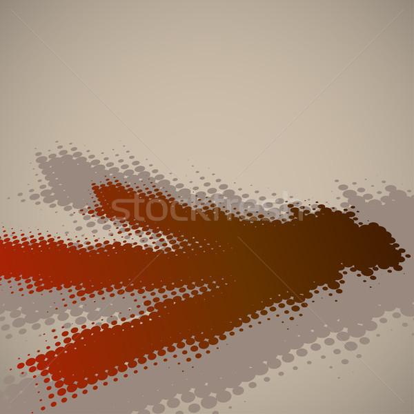 Abstract halftoon exemplaar ruimte textuur ontwerp Stockfoto © tuulijumala