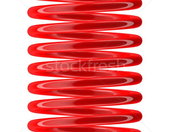 Seamless spring painted red Stock photo © tuulijumala