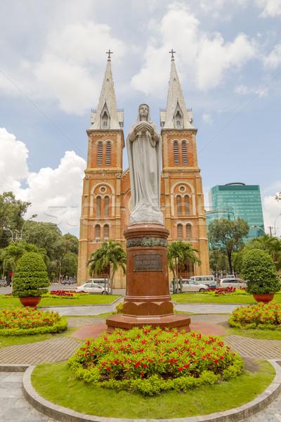Regina Pacis statue in Ho Chi Minh City Stock photo © tuulijumala