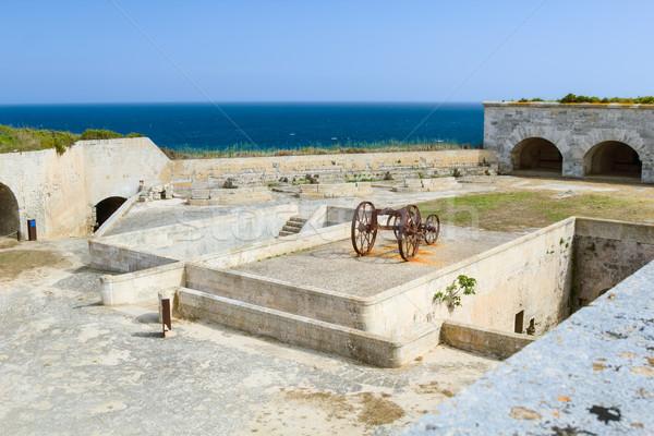 La fortezza isola Spagna bocca verde Foto d'archivio © tuulijumala