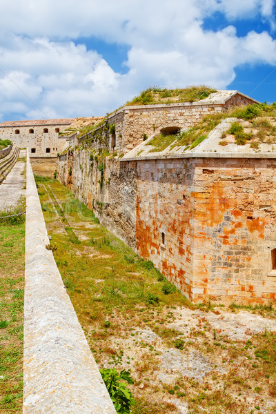 La Mola Fortress of Isabel II at Menorca island, Spain. It was b Stock photo © tuulijumala