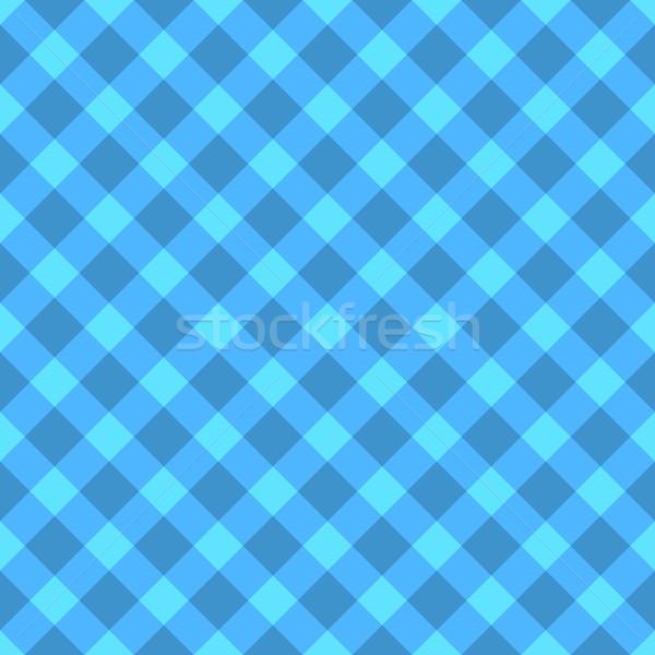 Blu ciano senza soluzione di continuità panno pattern Foto d'archivio © tuulijumala