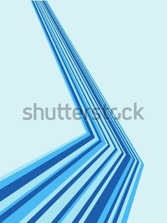 Blauw vector exemplaar ruimte ontwerp achtergrond Stockfoto © tuulijumala