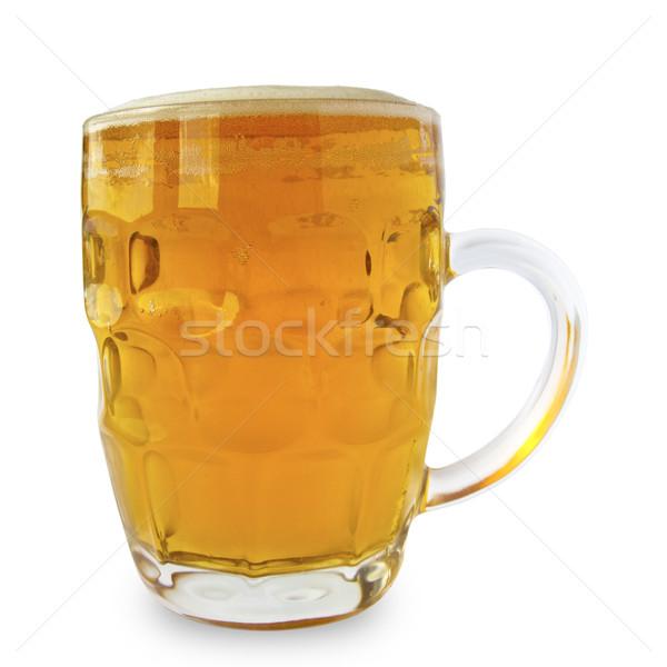 Glass of beer Stock photo © tuulijumala