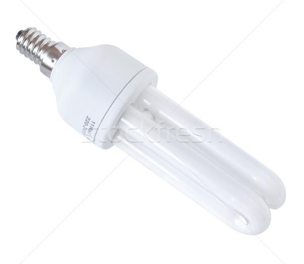 énergie efficace ampoule isolé blanche design Photo stock © tuulijumala