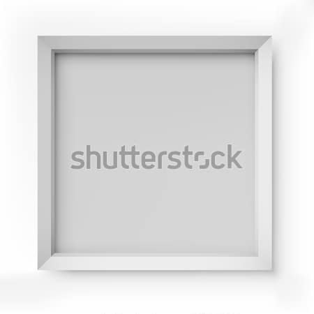 Blank white picture frame Stock photo © tuulijumala