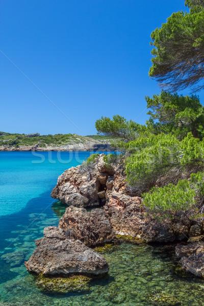 Platja des bot nature view, Menorca, Spain. Stock photo © tuulijumala