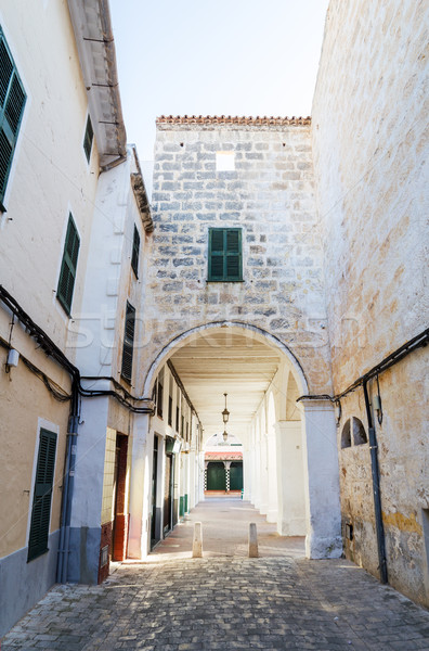 старый город узкий улице Испания здании лет Сток-фото © tuulijumala