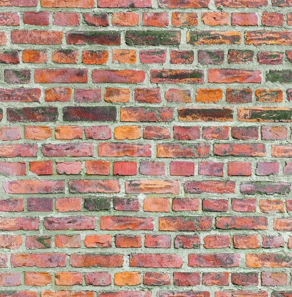 Seamless old brick wall texture. Stock photo © tuulijumala