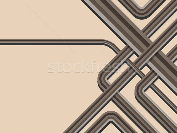 Stockfoto: Abstract · modieus · gestreept · vector · exemplaar · ruimte · yo