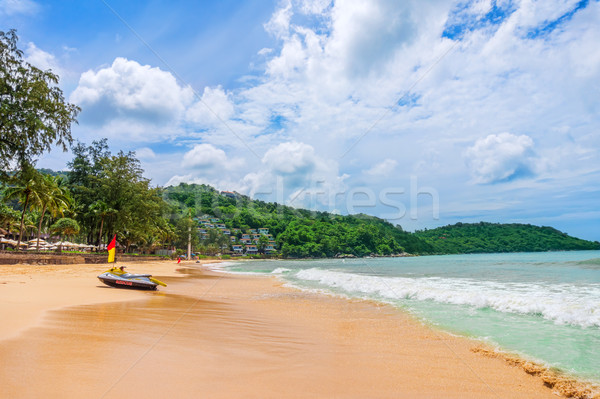 Praia phuket ilha sul verão Foto stock © tuulijumala